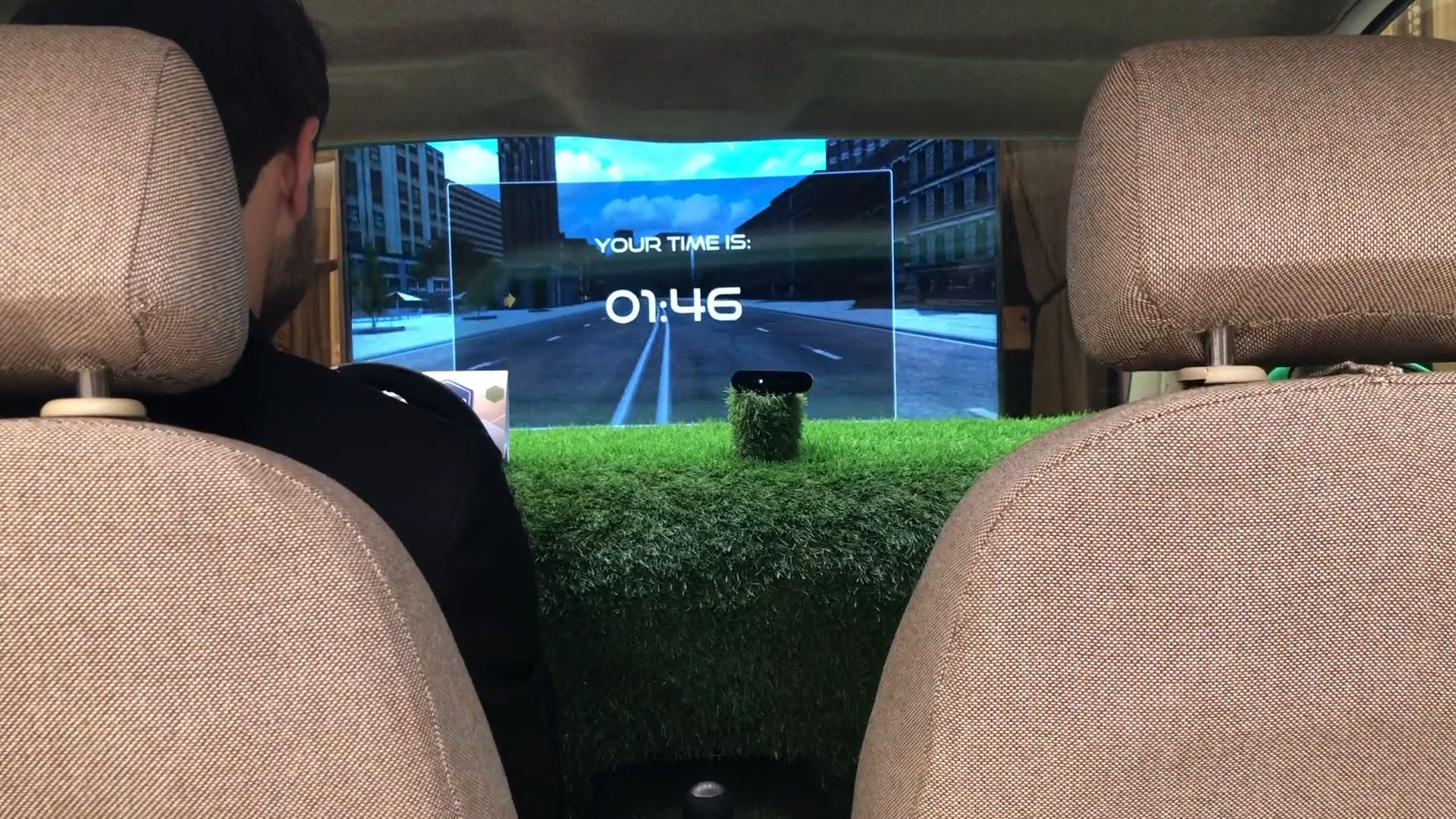 sharjah e-Government retreat interactive technology integration car racing simulator