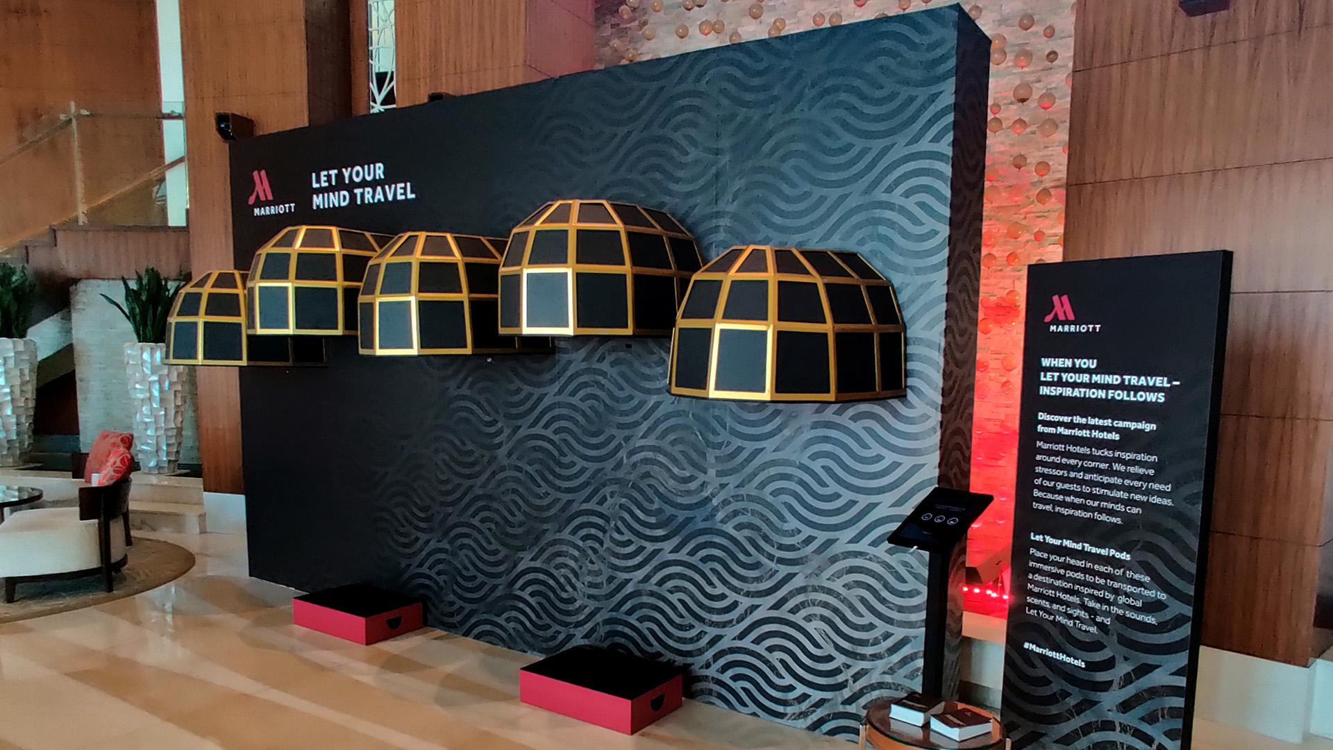 wall marriott interactive technology sensors scent touch eventagrate dubai