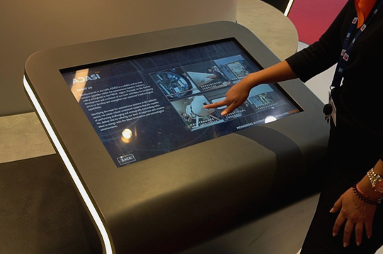 Company touchscreen touch screen information
