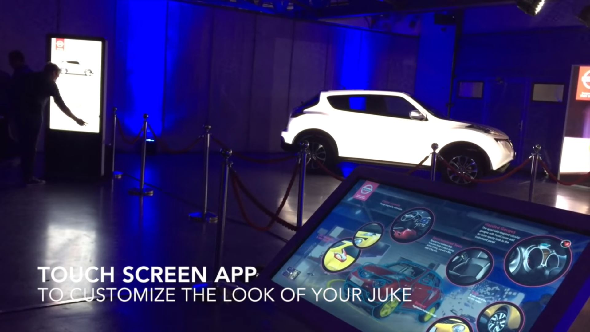 nissan eventagrate interactive projection mapping ar