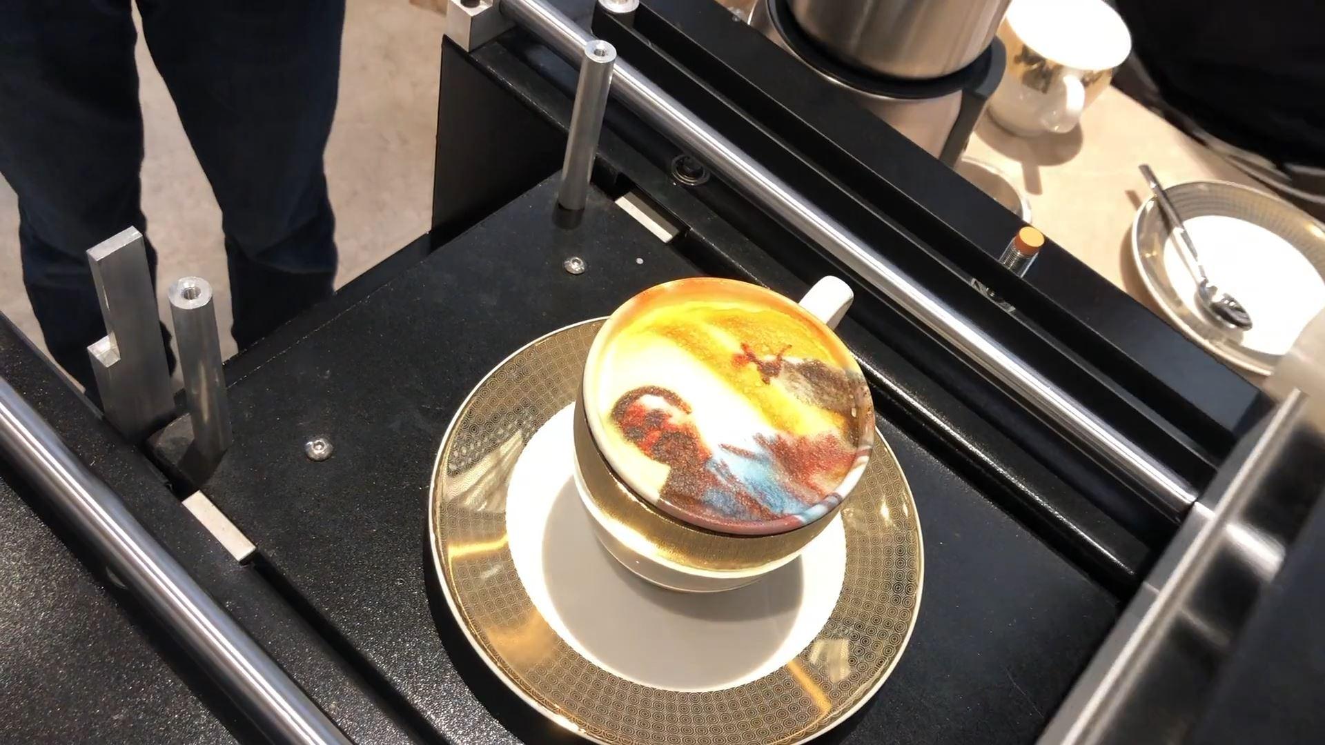 sharjah e-Government retreat interactive technology integration coffee printer
