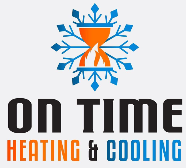 On Time Heating & Cooling logo