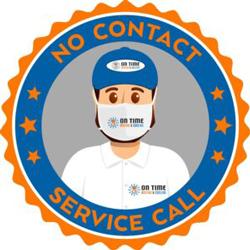 We provide a no contact service call