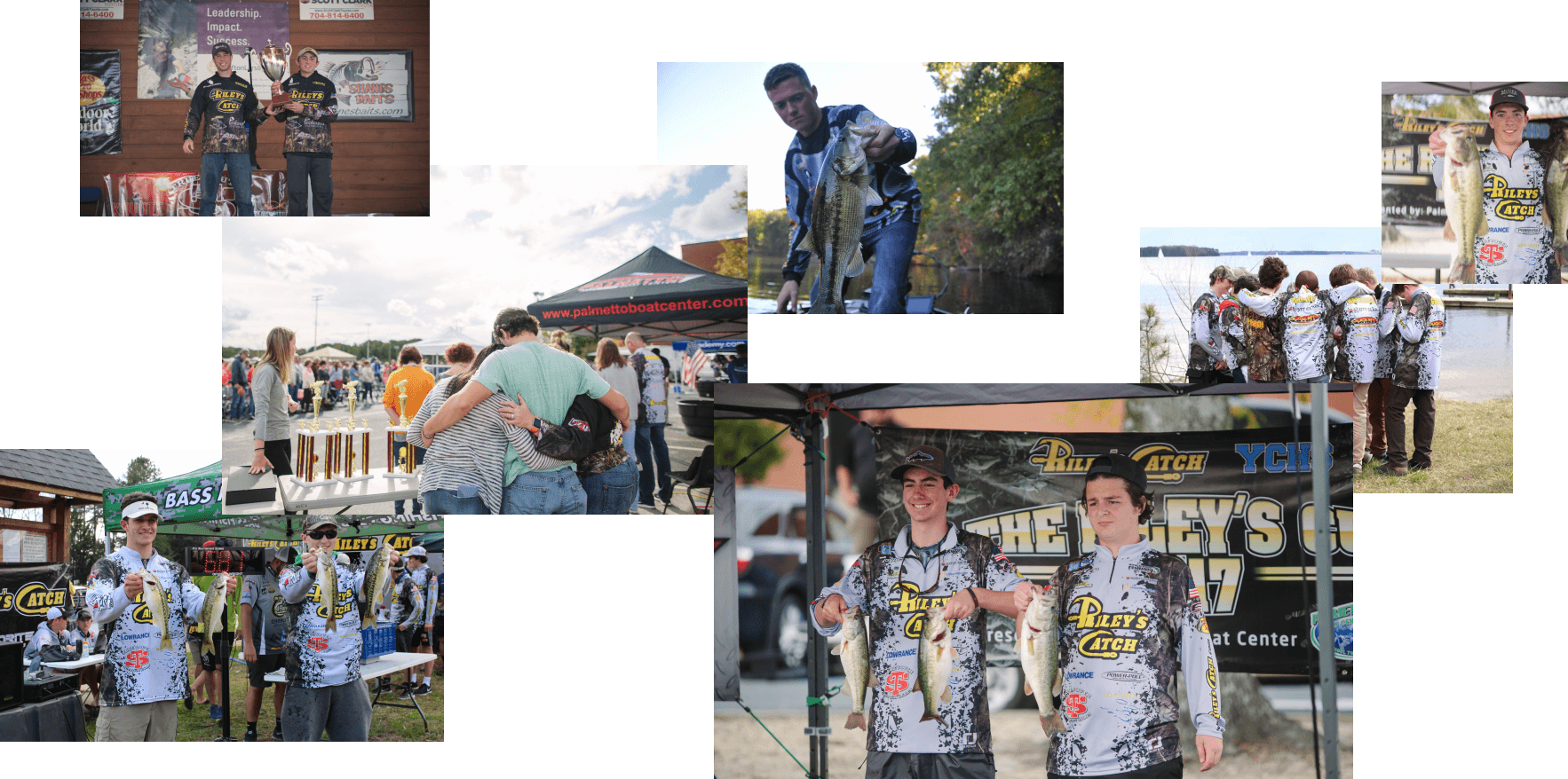 Collage of Riley's Catch pictures