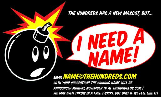 "adam bomb saying ""I need a name!"""