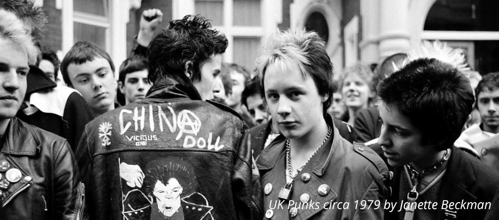 UK Punks circa 1979 by janette beckman