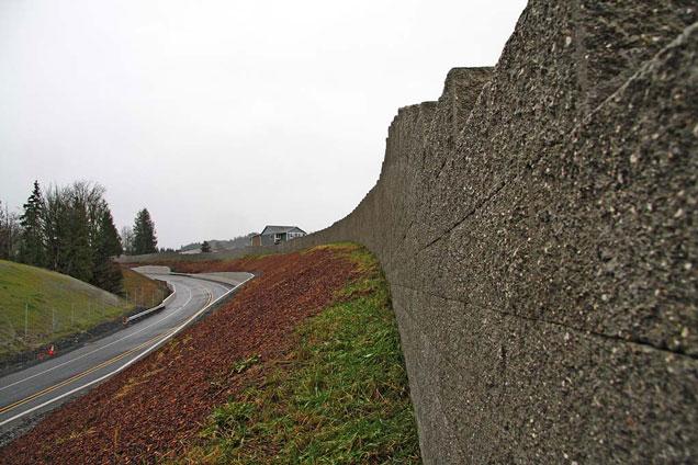 Granite Falls Noise Wall
