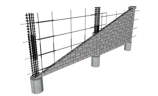 SR 167 Noise Wall