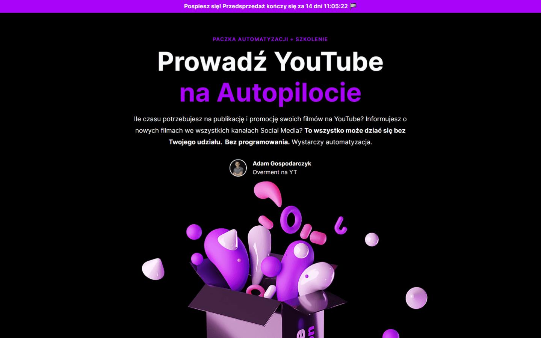 YouTube na Autopilocie