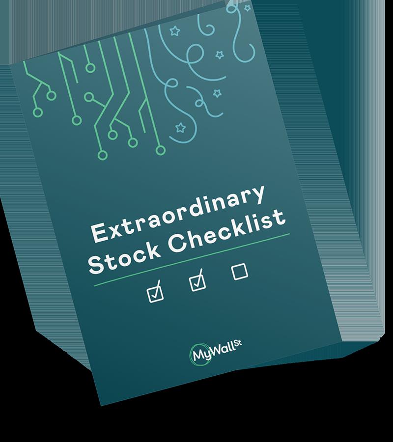Extraordinary Stock Checklist Cover Image
