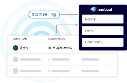Nautical marketplace operator dashboard