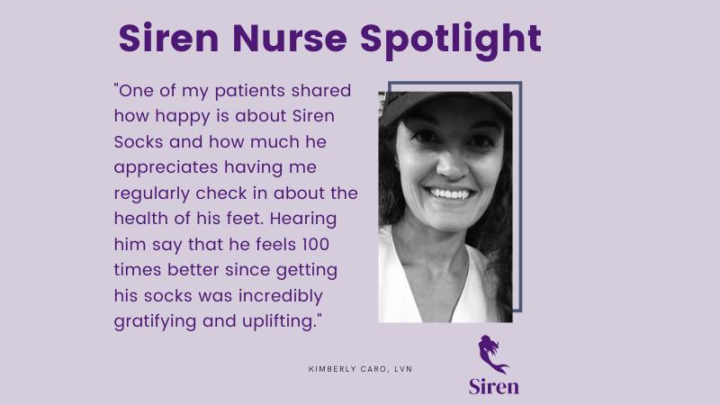 Siren Nurse Spotlight: Kimberly Caro, LVN