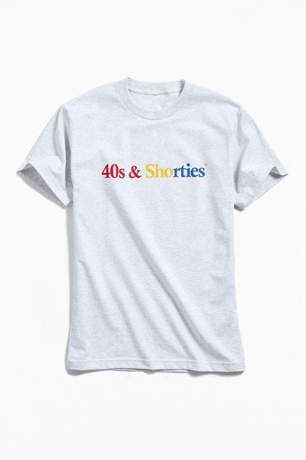 40s & Shorties Text Logo Tee