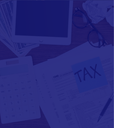 Tax image to show type of service