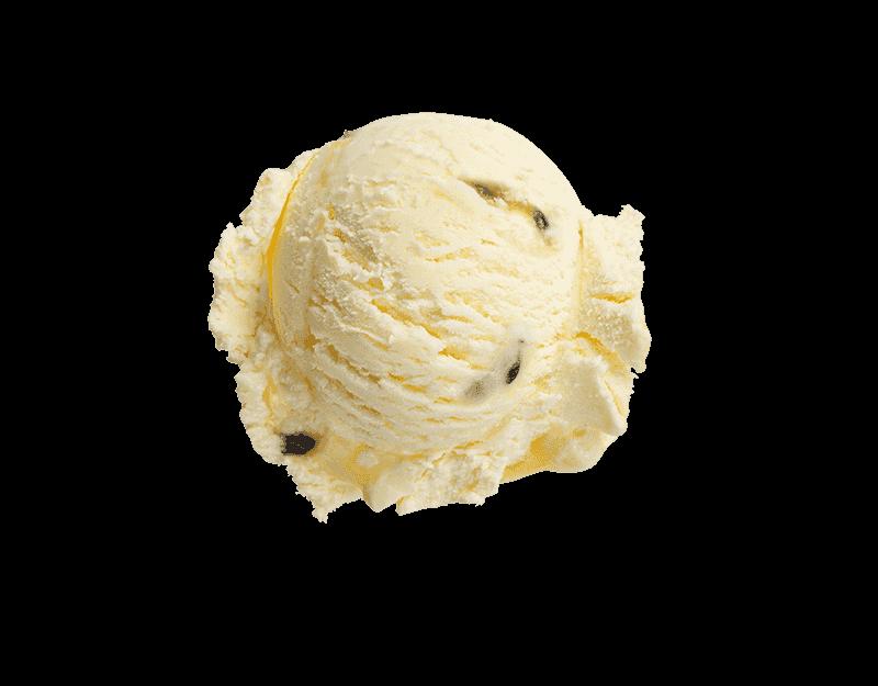 Kāpiti Passionfruit & Lemon Ice Cream