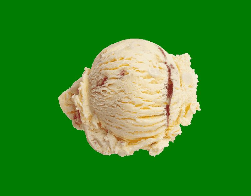 Kāpiti White Chocolate & Raspberry Ice Cream