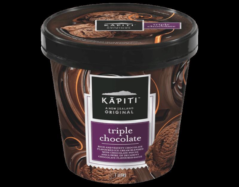 Kāpiti Triple Chocolate Ice Cream