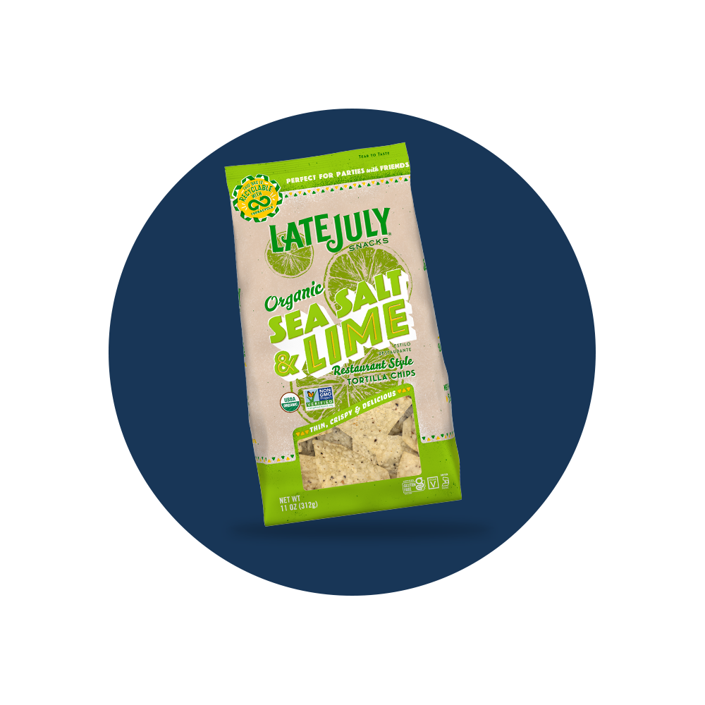 Late July® Snacks   Click Here