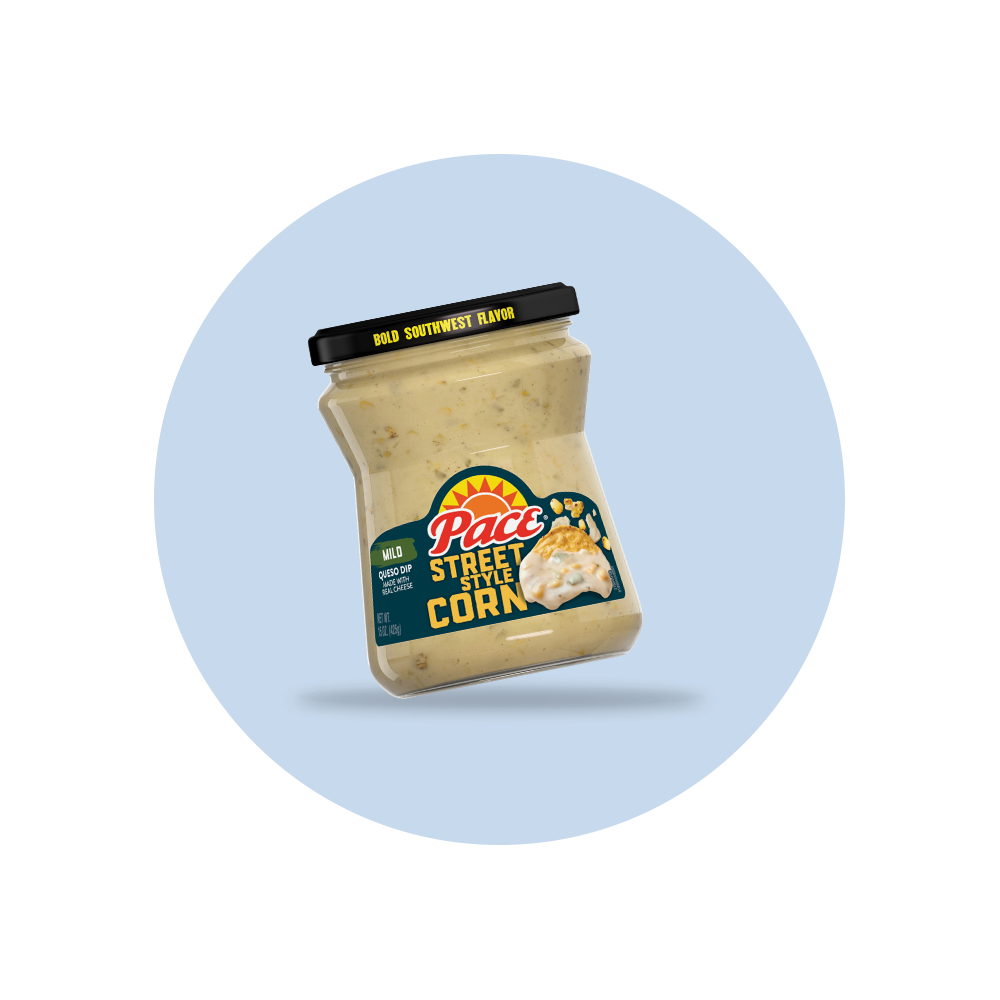 Pace® Street Style Corn Queso Dip