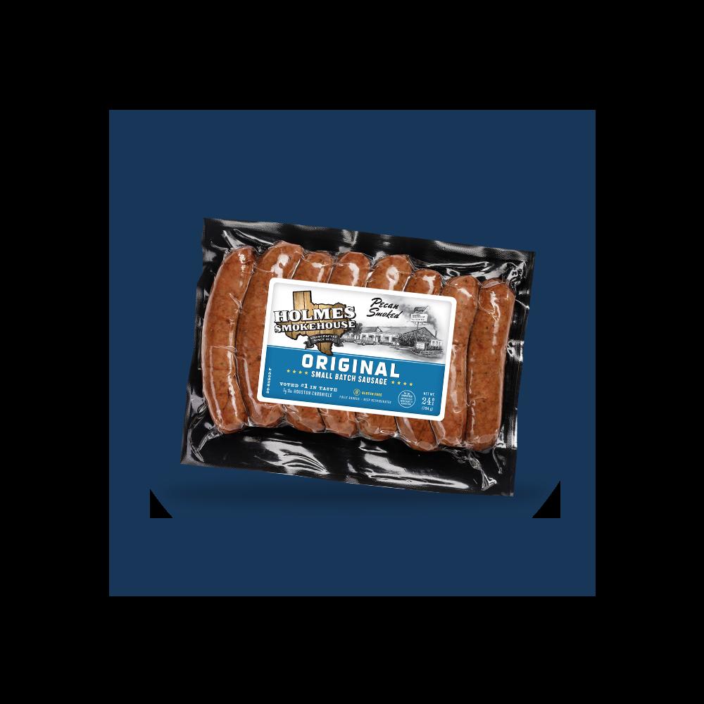 Holmes Smokehouse Original Small Batch Sausage