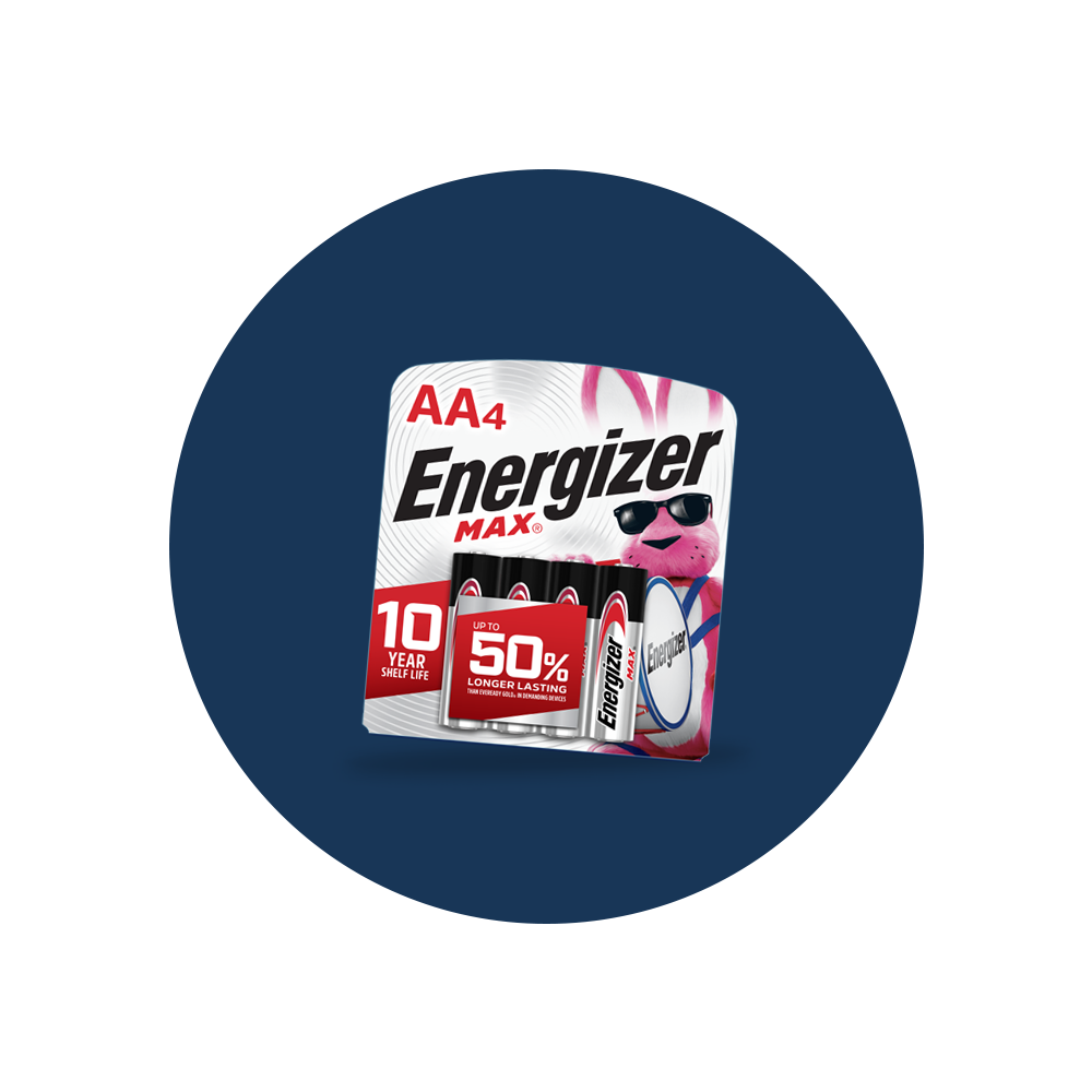Energizer® AA Batteries