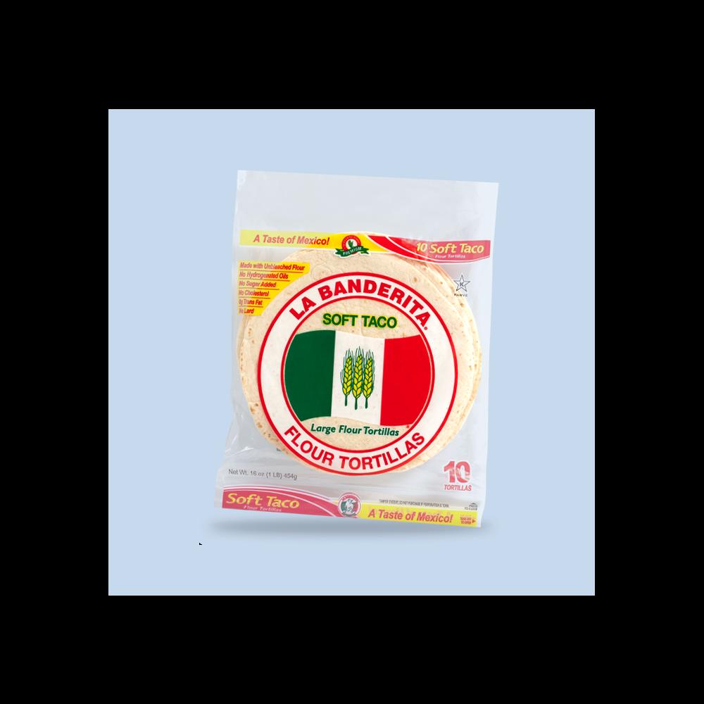 Olé Mexican Foods®  La Banderita Flour Tortillas