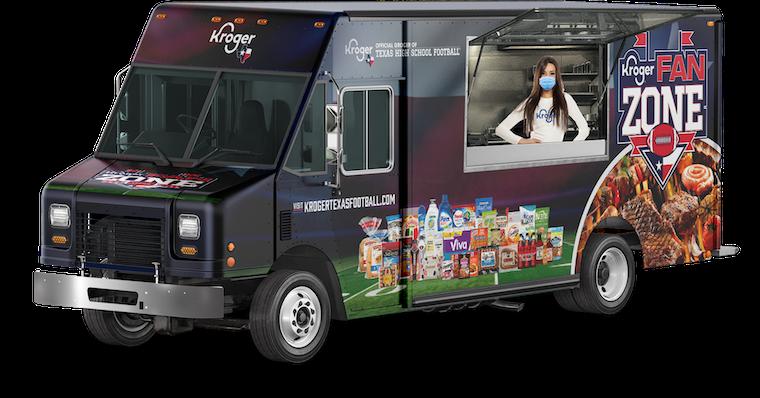 Kroger® Fan Zone Food Truck