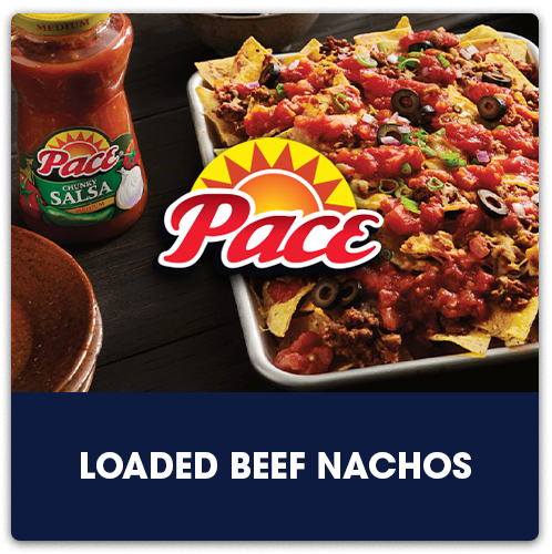 Pace® Loaded Beef Nachos   View Recipe