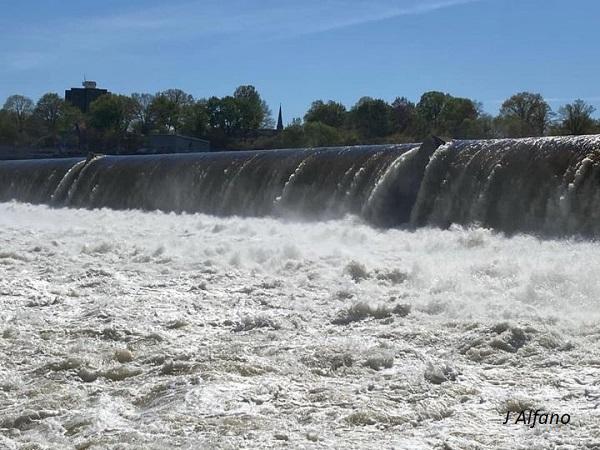 2022_05-19 South Hadley Falls below the dam