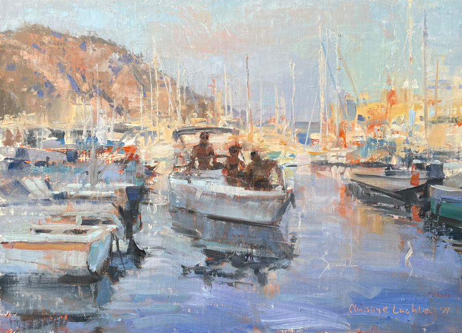 boats on the Riviera