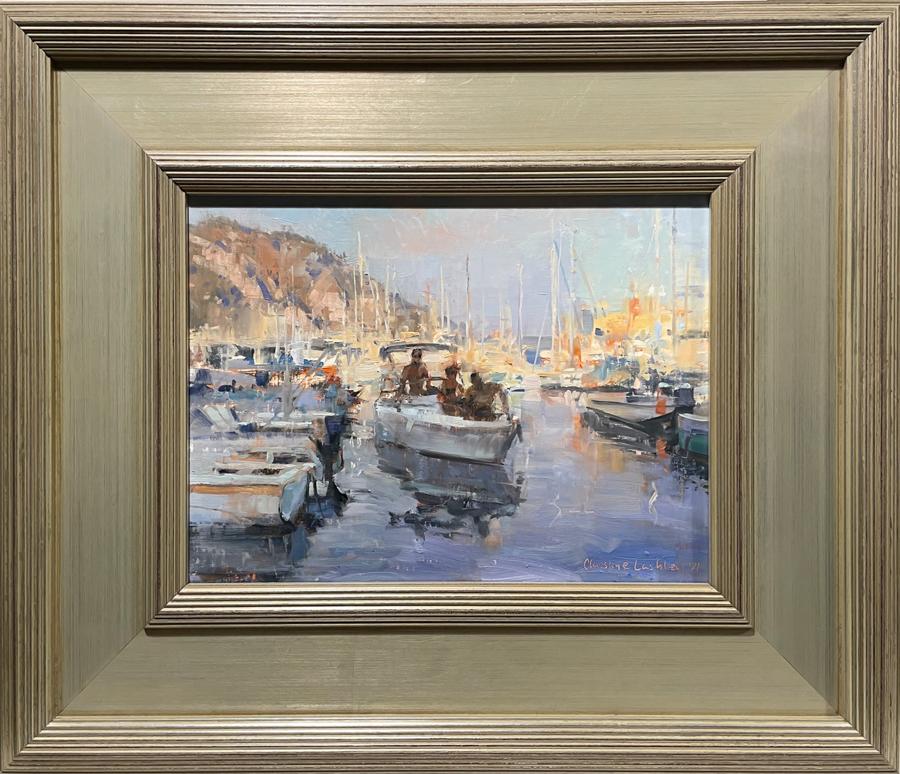 Riviera Harbor framed