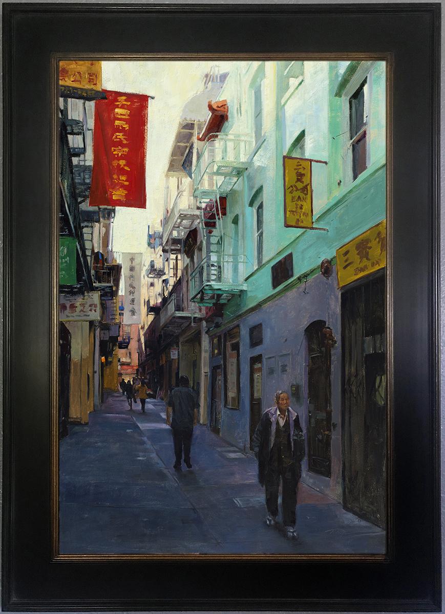 Ross Alley framed