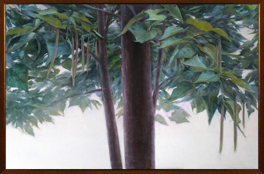 Large-Leaved Tree framed