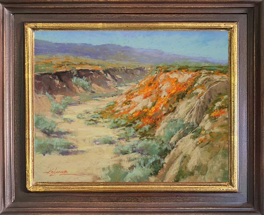 Copa de Oro in Antelope Valley framed