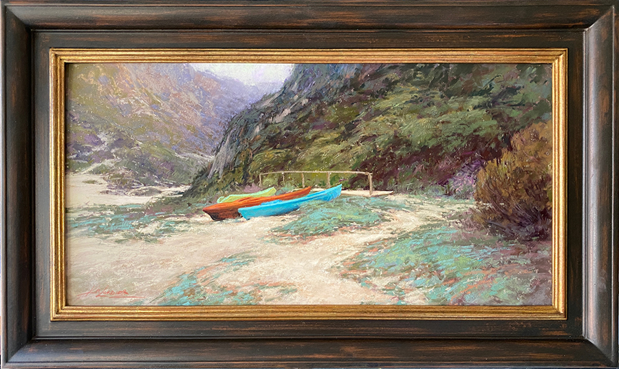 Beached framed