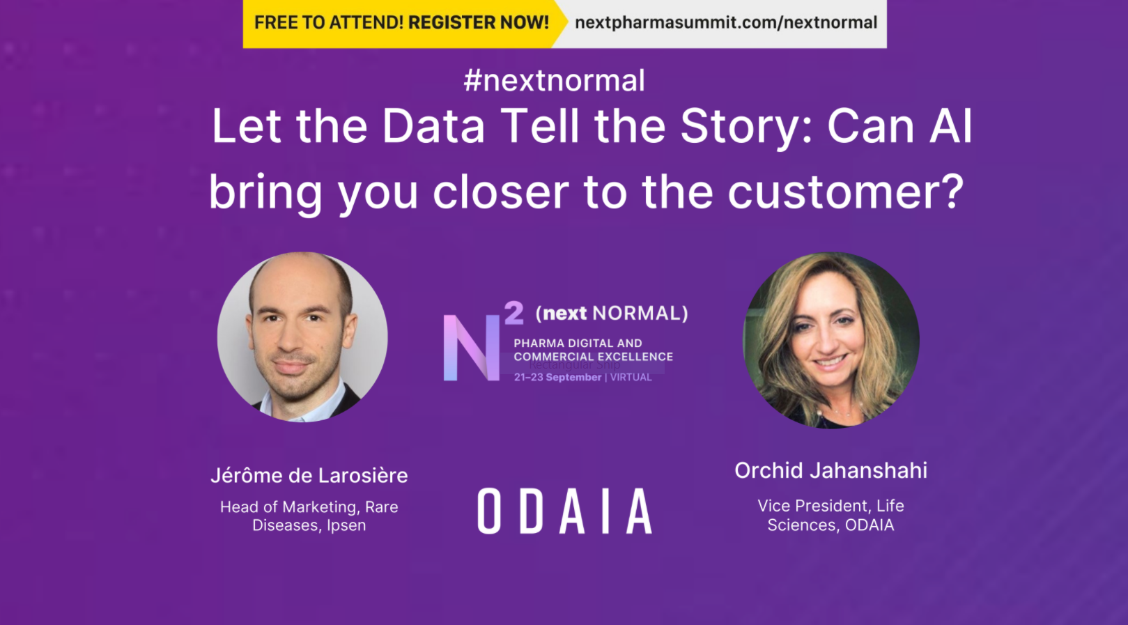 Fireside Chat: Let the Data Tell the Story: Can AI bring you closer to the customer?