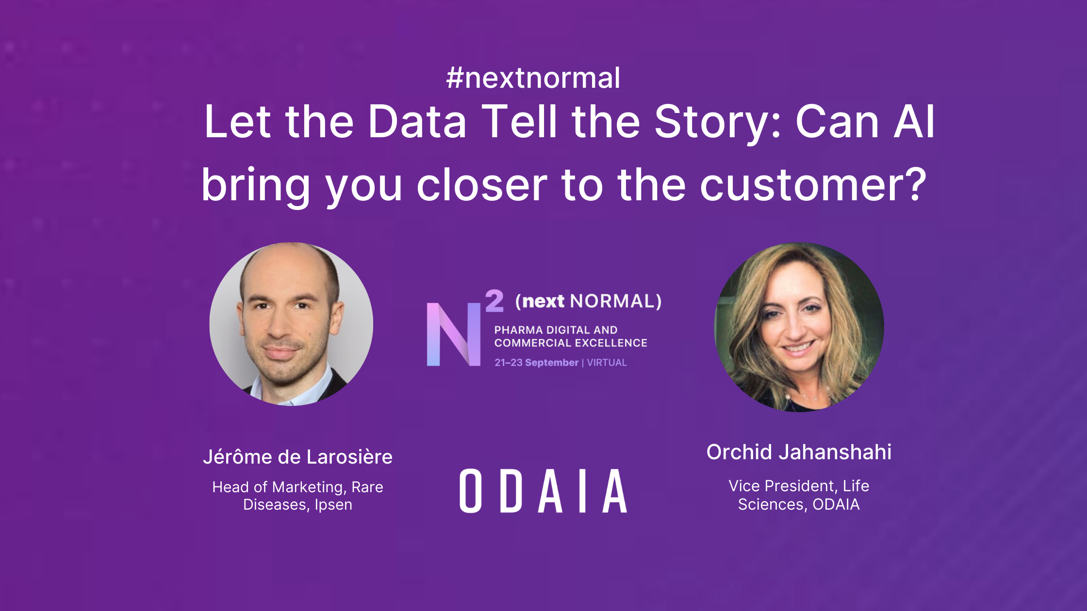 Let Data Tell the Story