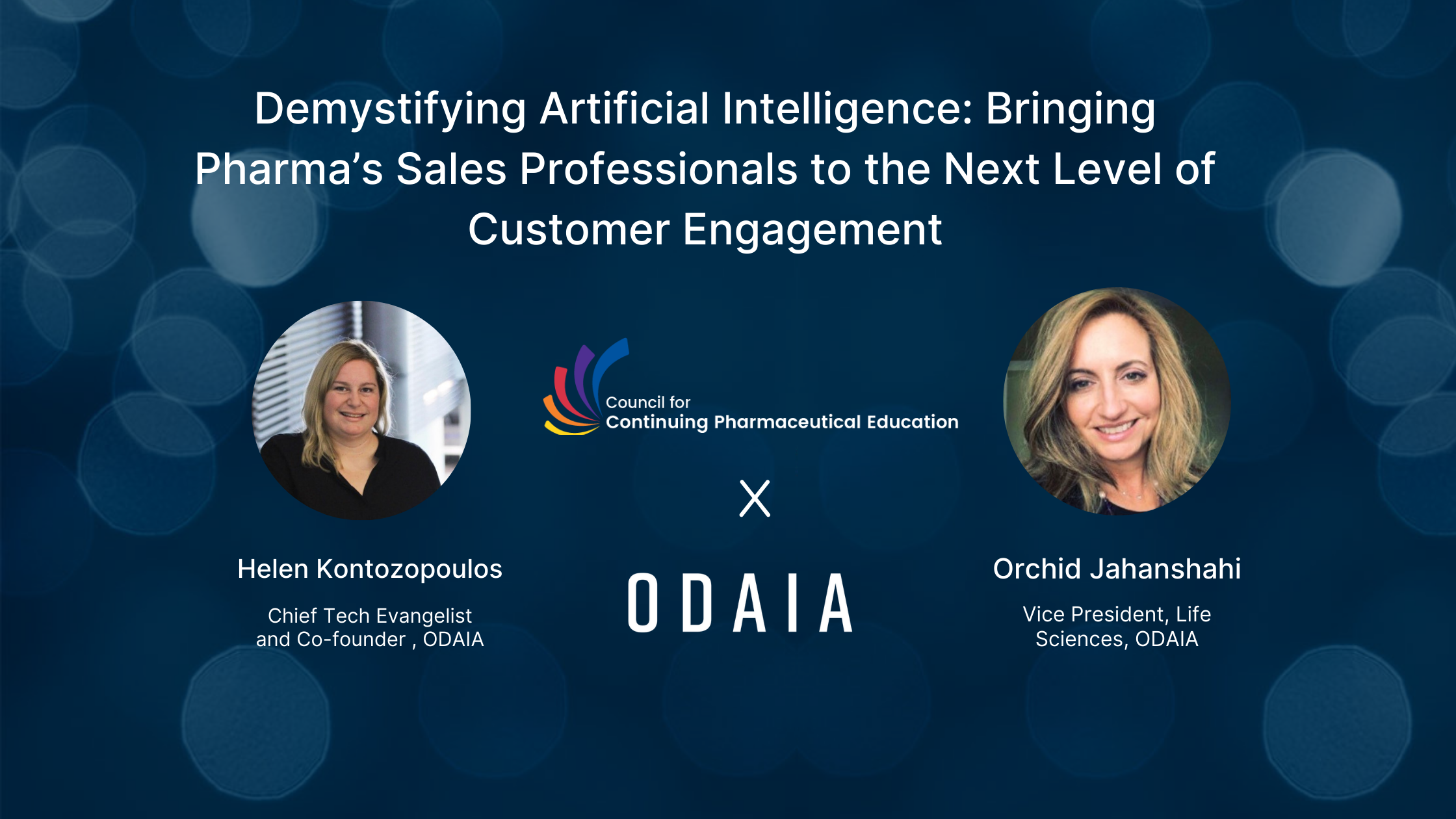 Demystifying Artificial Intelligence: Bringing Pharma's Sales Professionals to the Next Level of Customer Engagement