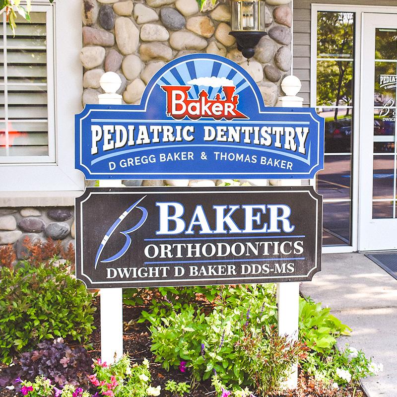 Baker Pediatric Dentistry Signage