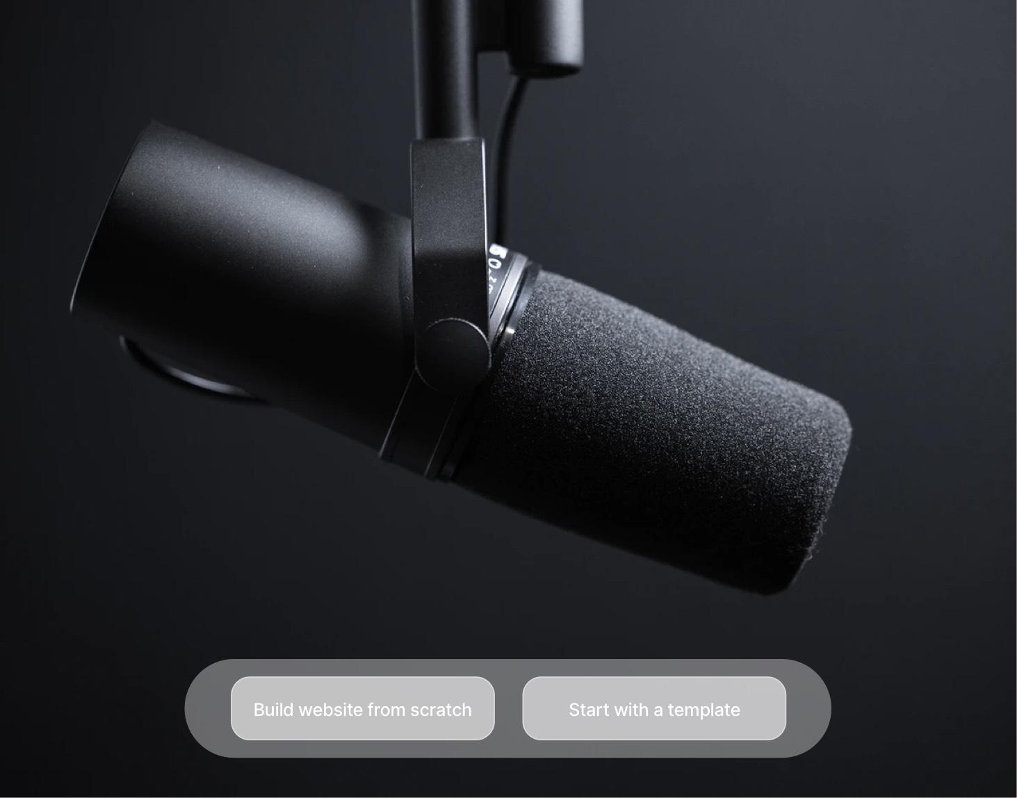 Podcast Website Builder