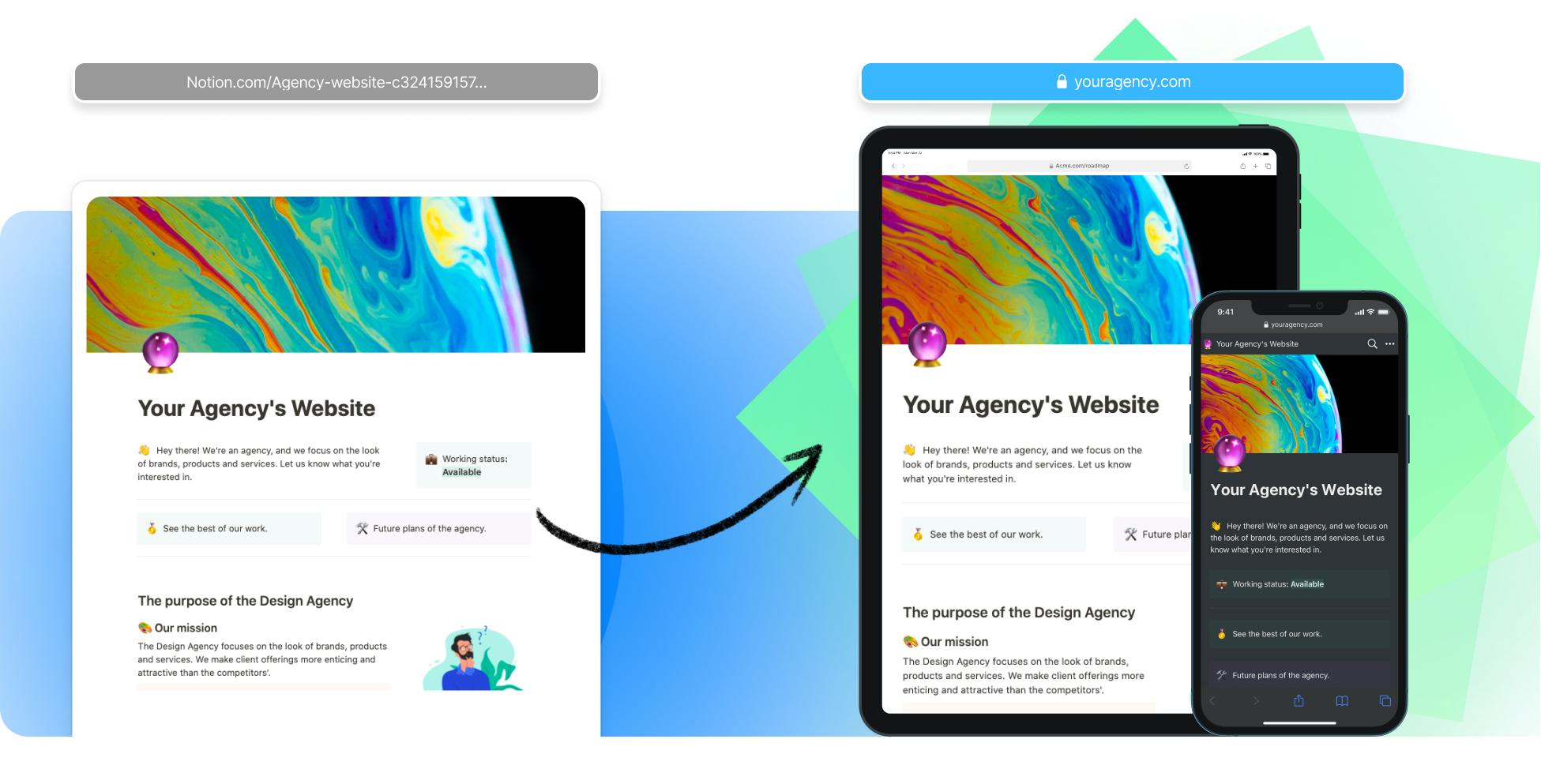Agency Website Builder In Notion