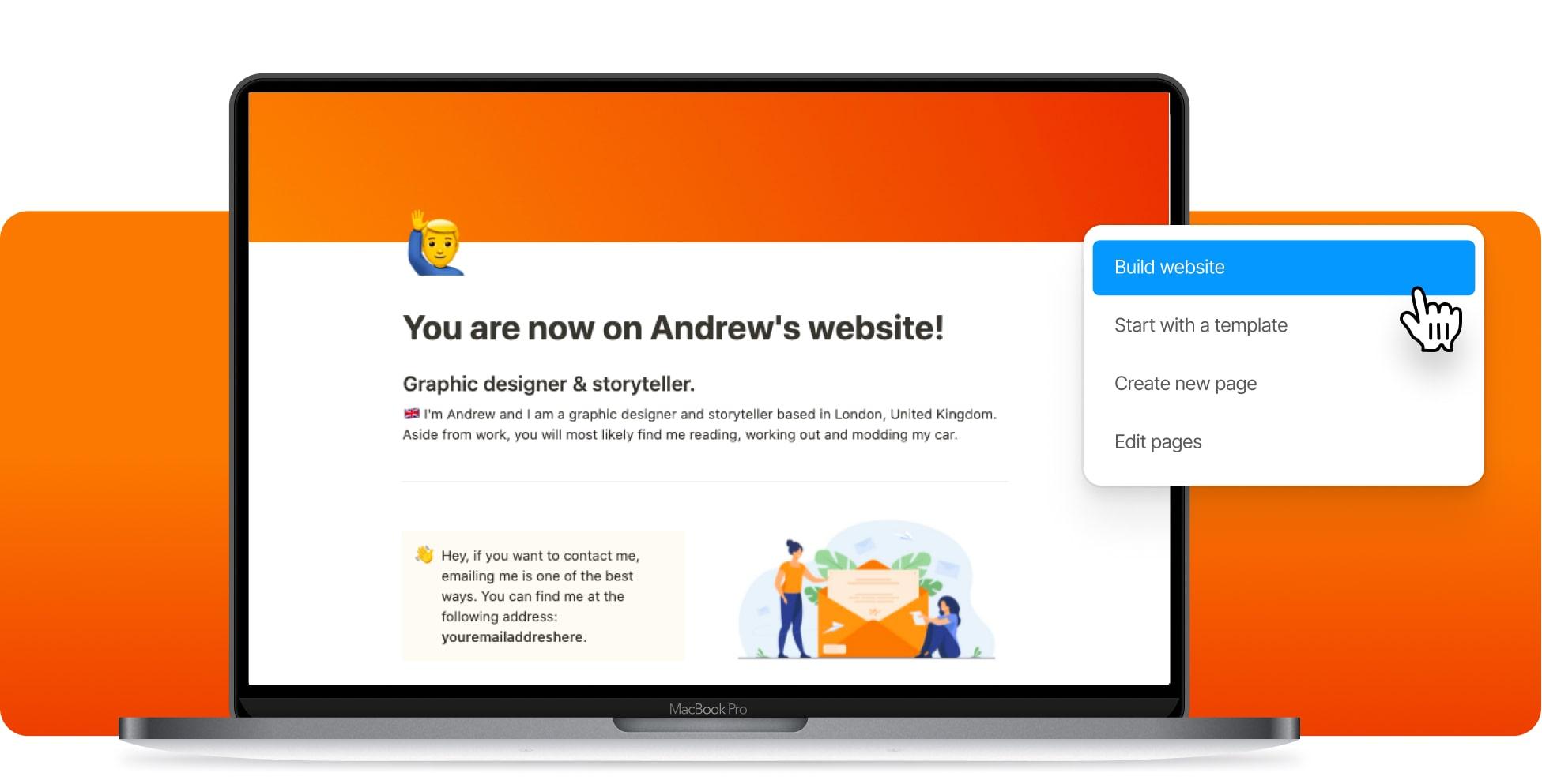 Build A Freelancer Website In Notion