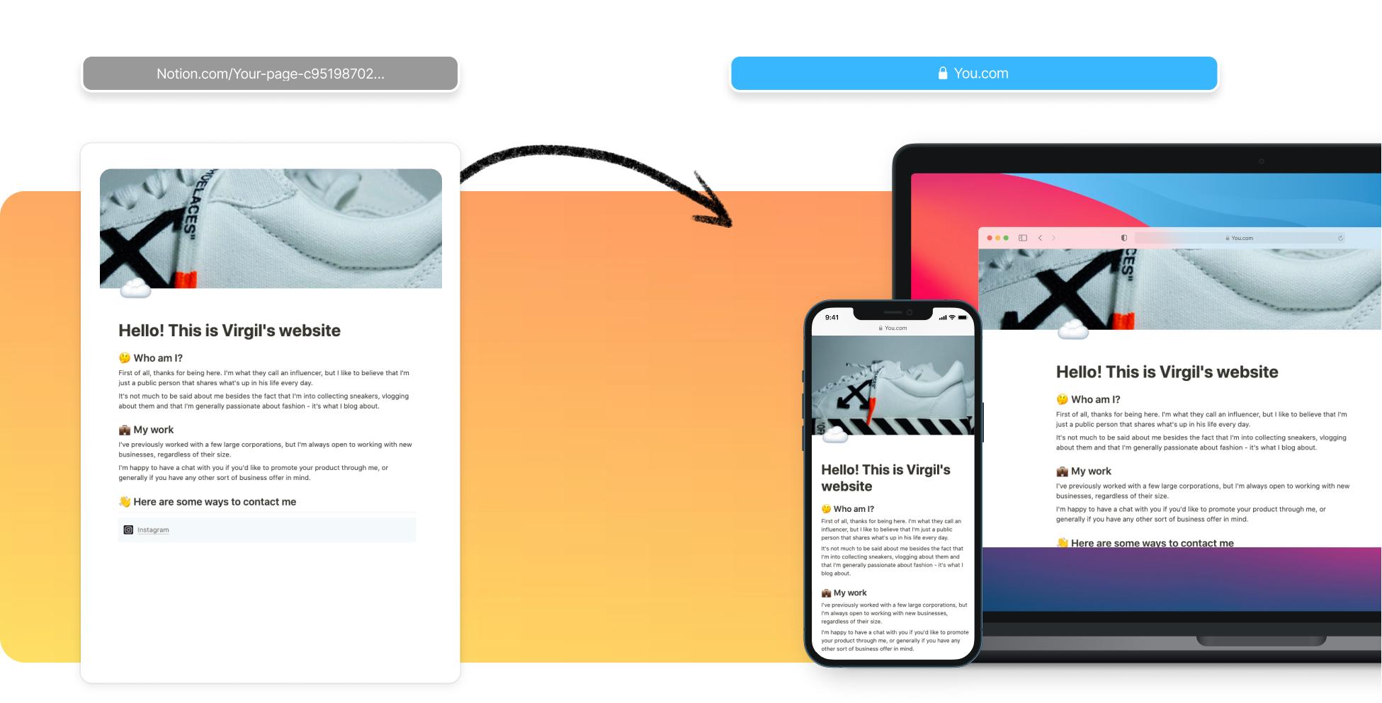Create An Influencer Website
