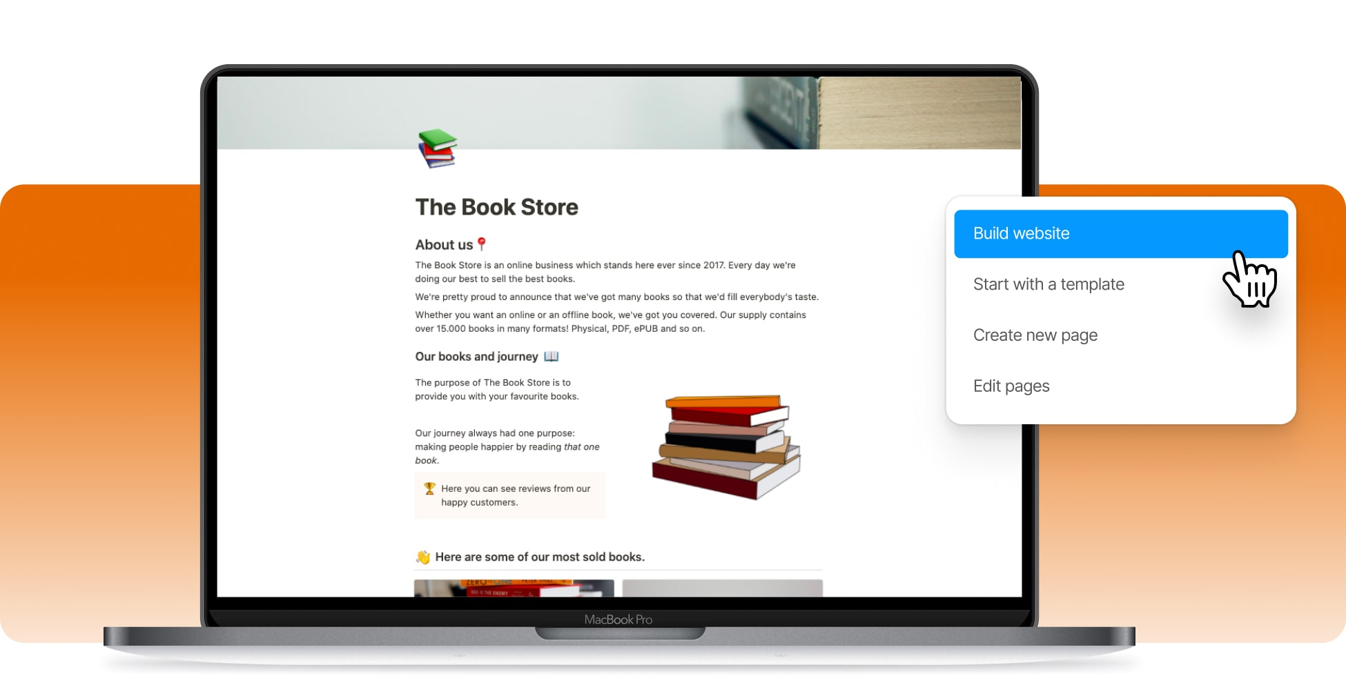 Create A Book Selling Website
