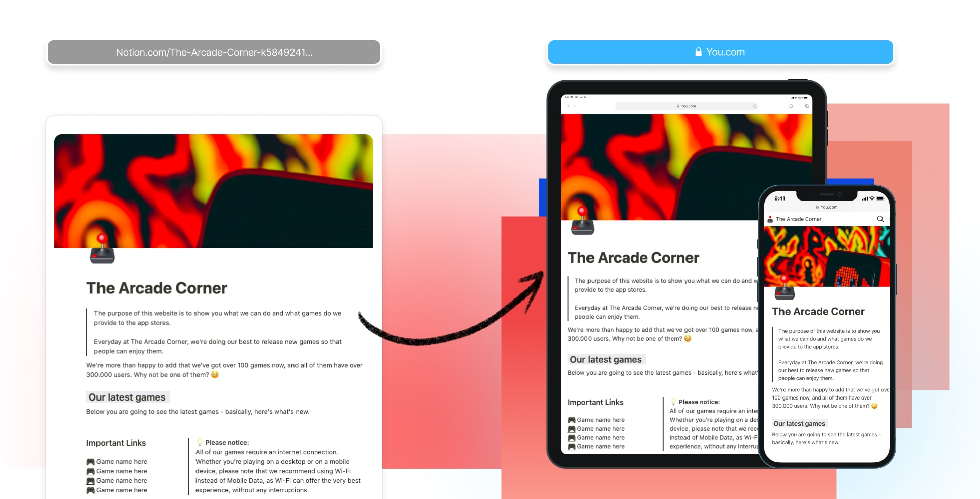 Create A Game Website In Notion (Websites For Games)
