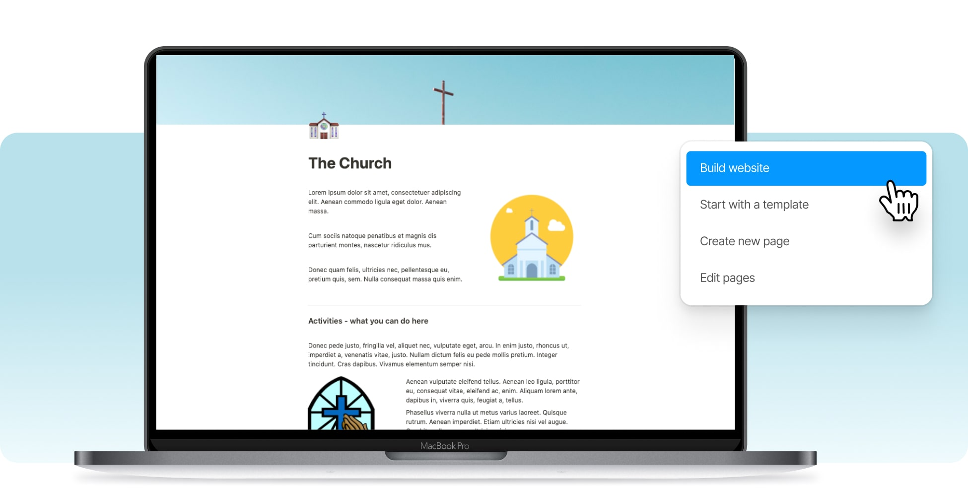 Build A Church Website In Notion