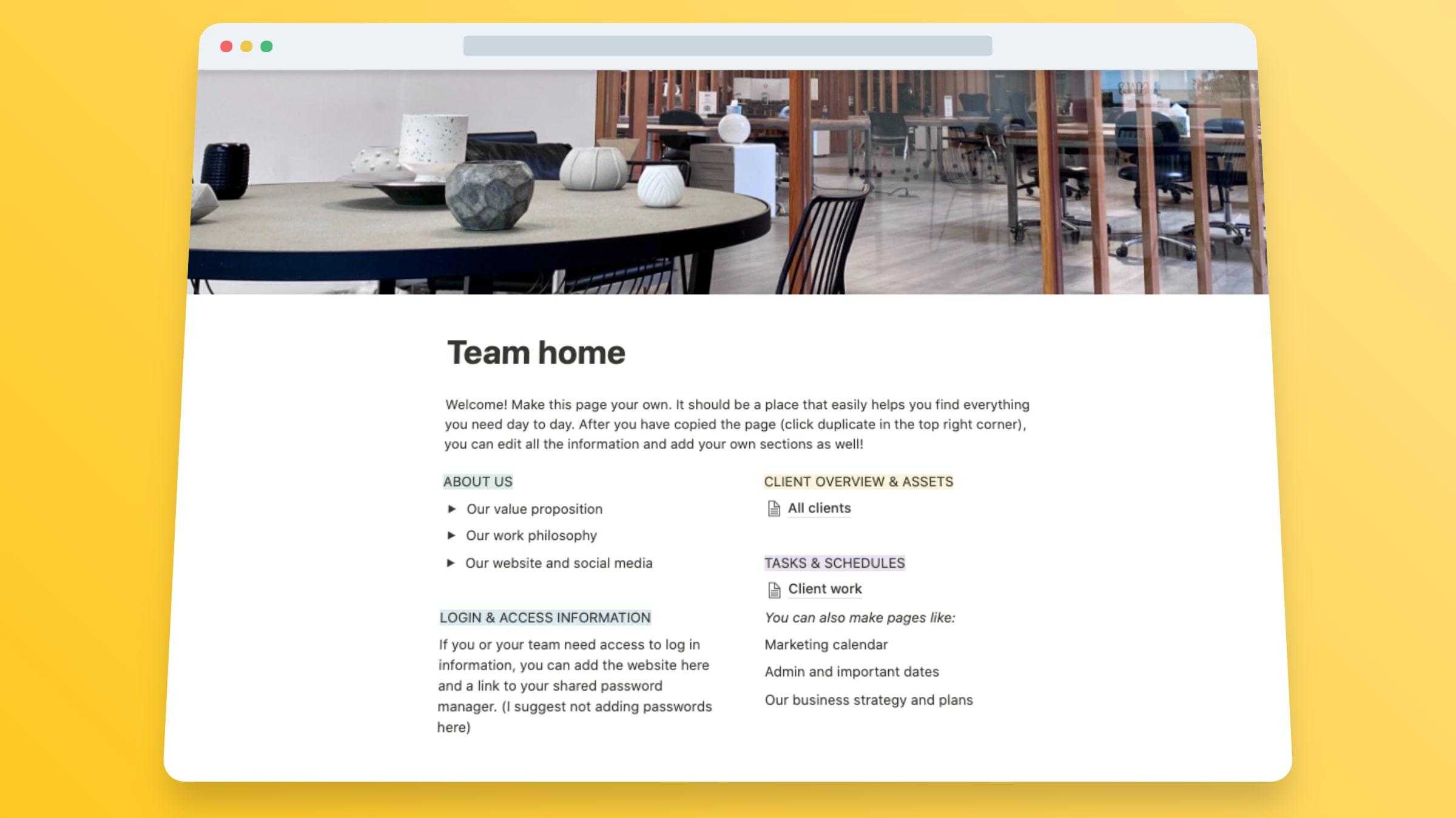 Designer Website Template - Kayla