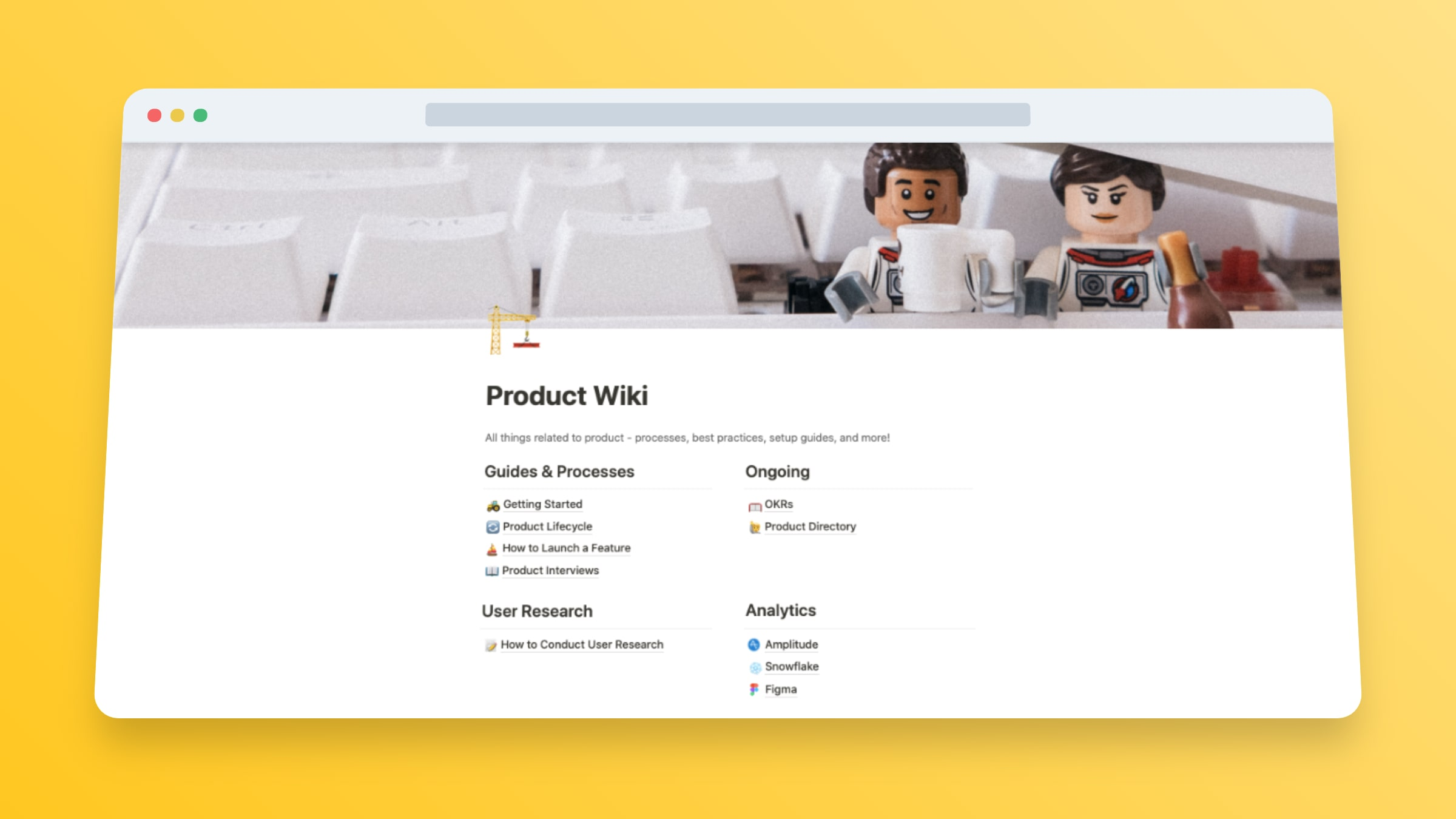 Product Management Notion Template
