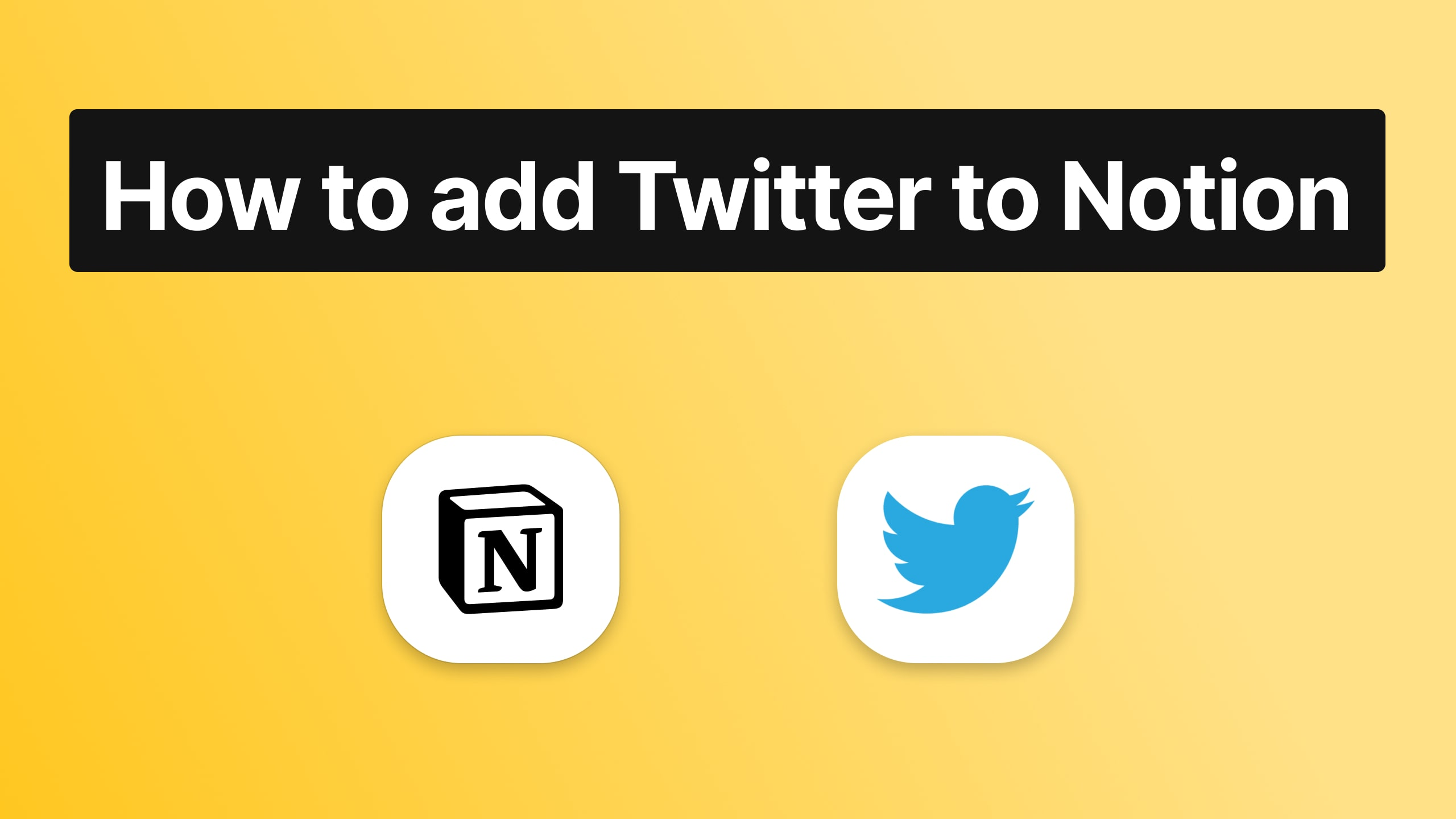 How to embed Twitter to Notion