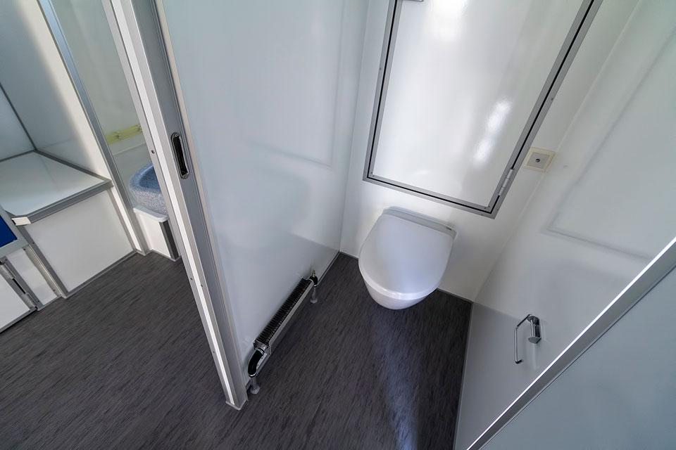 Pionervogn toilet